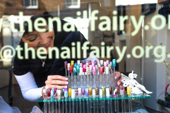EX Magazine feature Aly Johnson the Nail Fairy GRW Photography