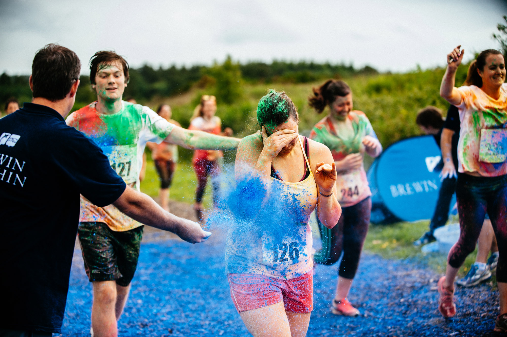 Rainbow Run Exeter Photos Charity Run For Children S